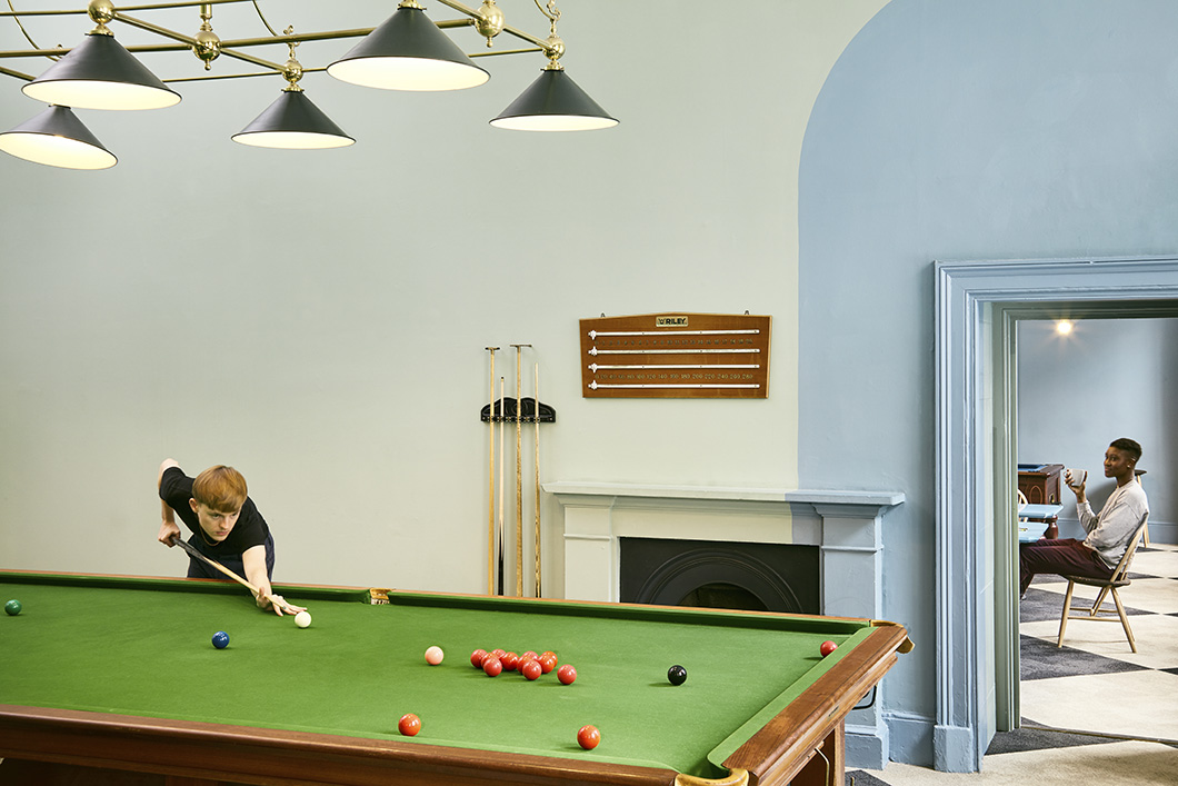 Somerset House Studios Snooker Rooms (c) Luke Walker