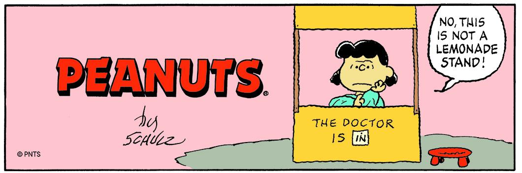 Detail of Peanuts 29.09.1996 © Peanuts