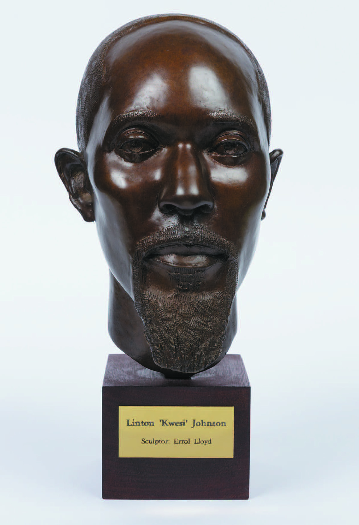 Errol Lloyd, Linton Kwesi Johnson Bronze Bust, 2006