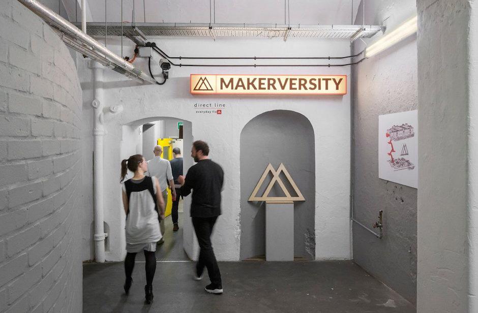 Makerversity Entrance