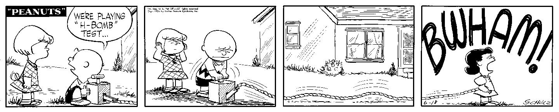 Peanuts 18.06.1954 © Peanuts