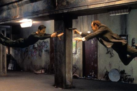Film still of The Matrix
