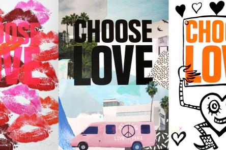 Print Club London presents Choose Love