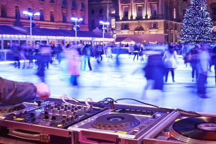 Club Nights - Skate at Somerset House with Fortnum & Mason (c) James Bryant