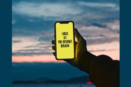 Image courtesy of Douglas Coupland, Slogans for the 21st Century, and Maria Francesca Moccia / EyeEm, via Getty Images