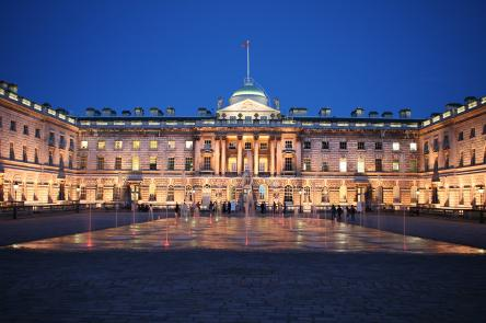 The Edmond J. Safra Fountain Court, Somerset House