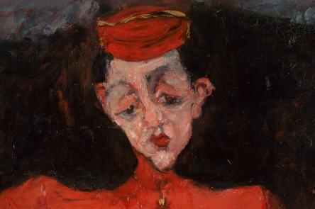 Chaïm Soutine (1893-1943), Bellboy, around 1925, oil on canvas Centre Georges Pompidou, Paris, Musée national d'art moderne/Centre de création industrielle