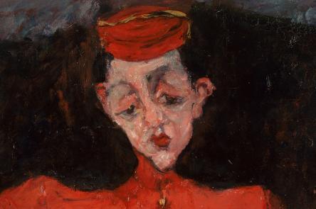 Chaïm Soutine (1893-1943), Bellboy, around 1925, oil on canvas Centre Georges Pompidou, Paris, Musée national d'art moderne/Centre de création industrielle