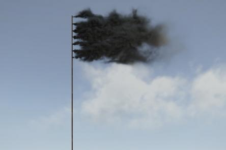 Western Flag artwork (c) John Gerrard