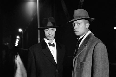 Isaac Julien, I Love My Friend, from the film Looking for Langston, 1989. Courtesy of Galerie Ron Mandos