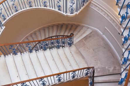 Nelson Stair, copyright James Brittain