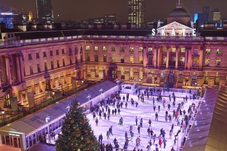Skate at Somerset House with Fortnum  Mason (c) James Bryant