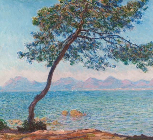 Monet, Claude Antibes copyright The Samuel Courtauld Trust, Courtauld Institute of Art Gallery, London