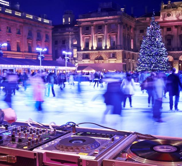 Skate Lates - Skate at Somerset House with Fortnum & Mason (c) James Bryant