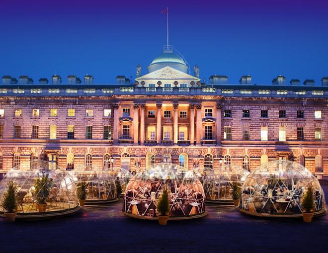 Igloos at Somerset House