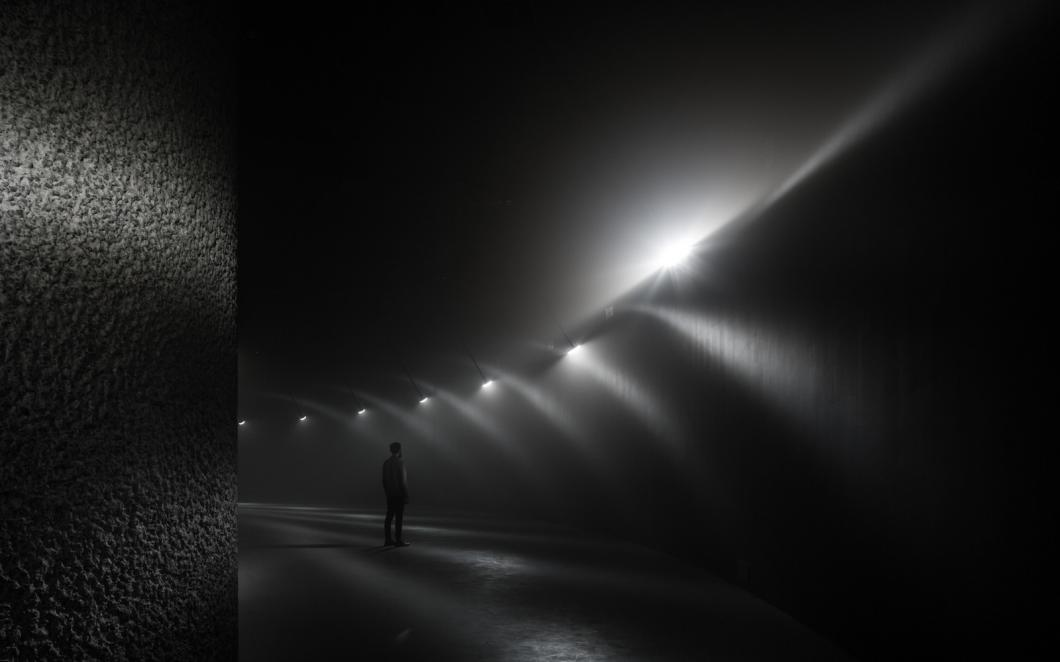 Momentum, Barbican 2015 (with United Visual Artists)
