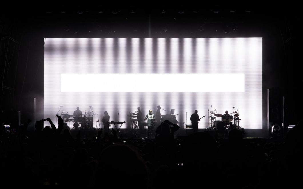 Massive Attack, 2016 Tour (Stage design, visual direction and composition, with United Visual Artists)