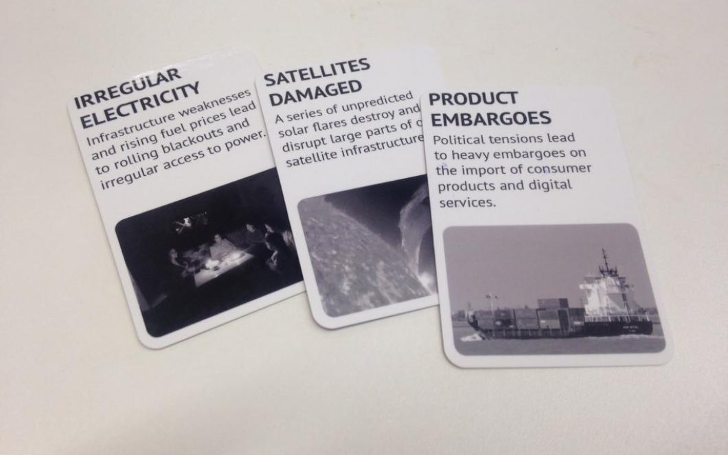 Customer Cards, Strange Telemetry