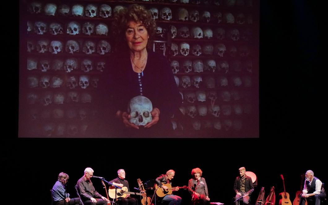 Shirley Collins 'Lodestar' liveshow, photo by Toby Amies