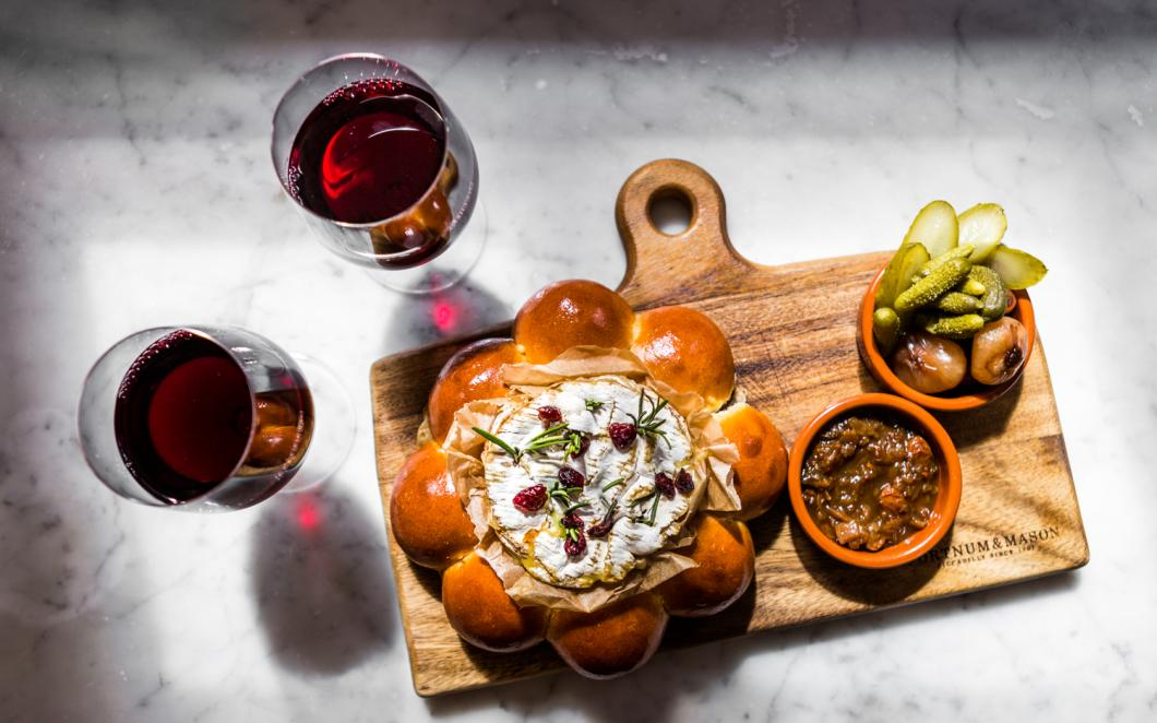 Red Wine, Baked Camembert & Brioche Sharing Board