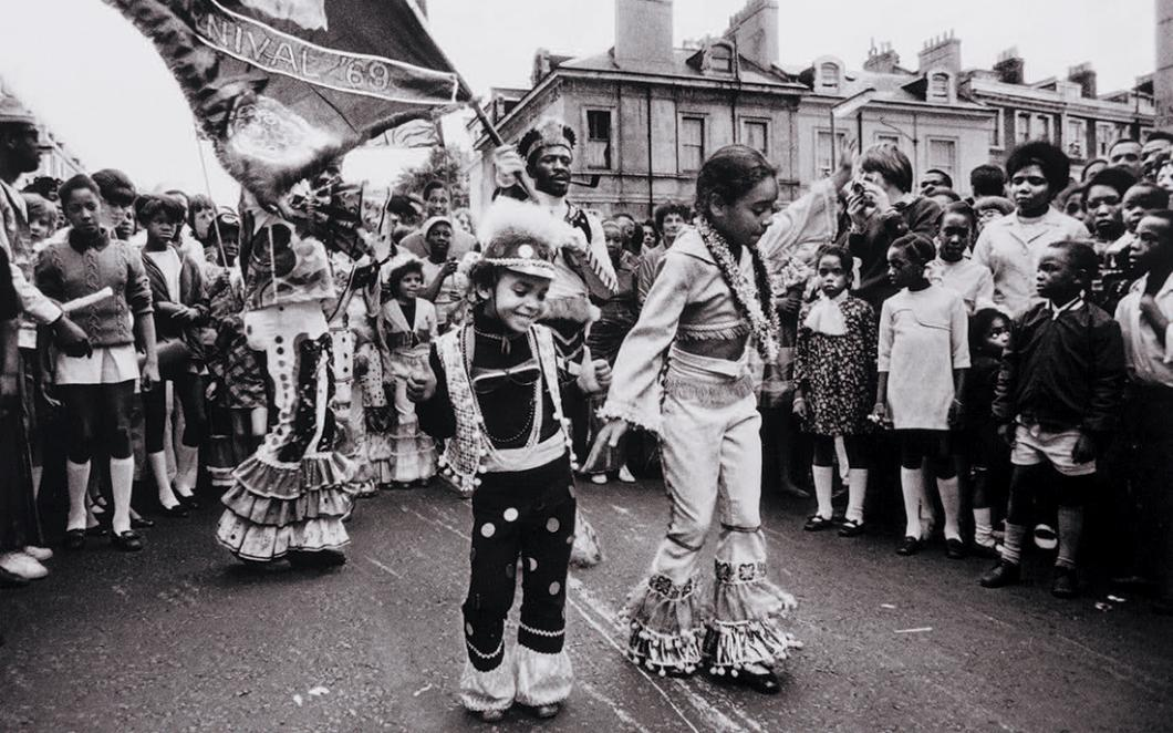 Children at Notting Hill Carnival in 1969