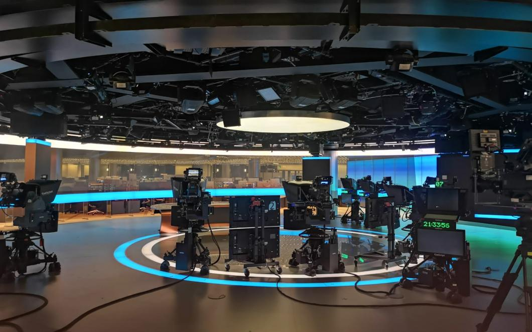 A newsroom at Bloomberg's European HQ in the City of London