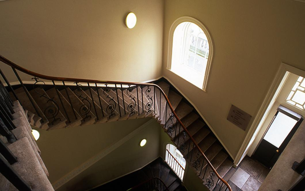 The Stamp Stair at Somerset House