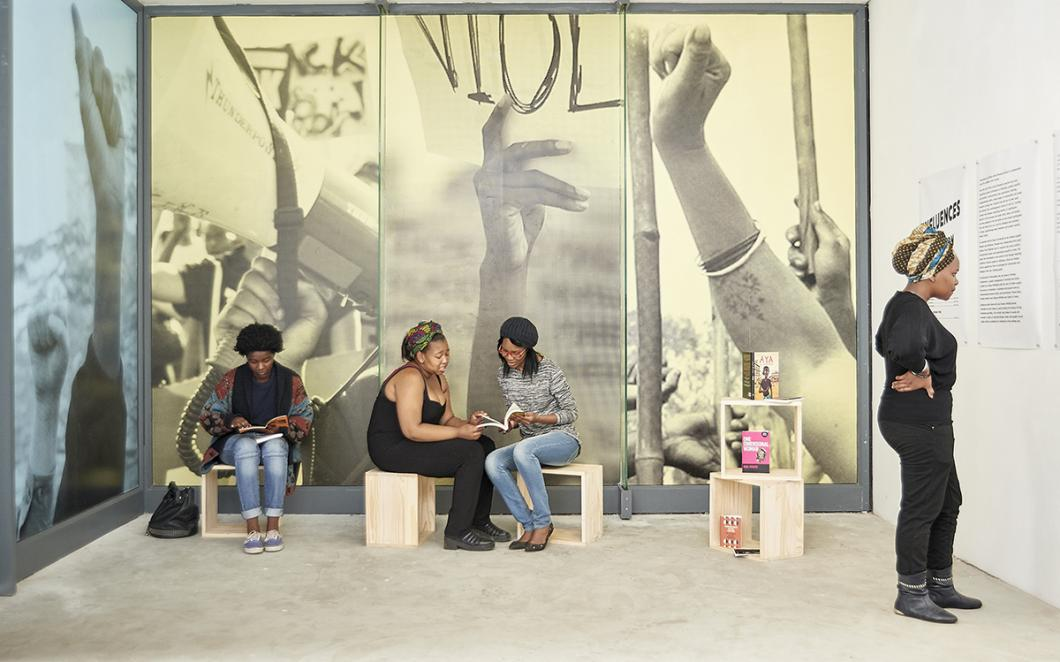 Influences, Johannesburg, Phoebe Davies, 2015 Image Credit: Anthea Pokroy.