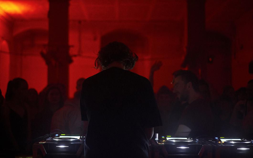 Beatrice Dillon performs at Somerset House Studios AGM