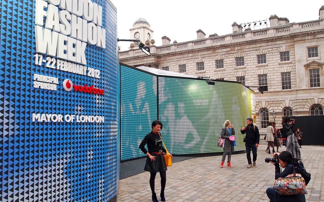 London Fashion Week, Somerset House