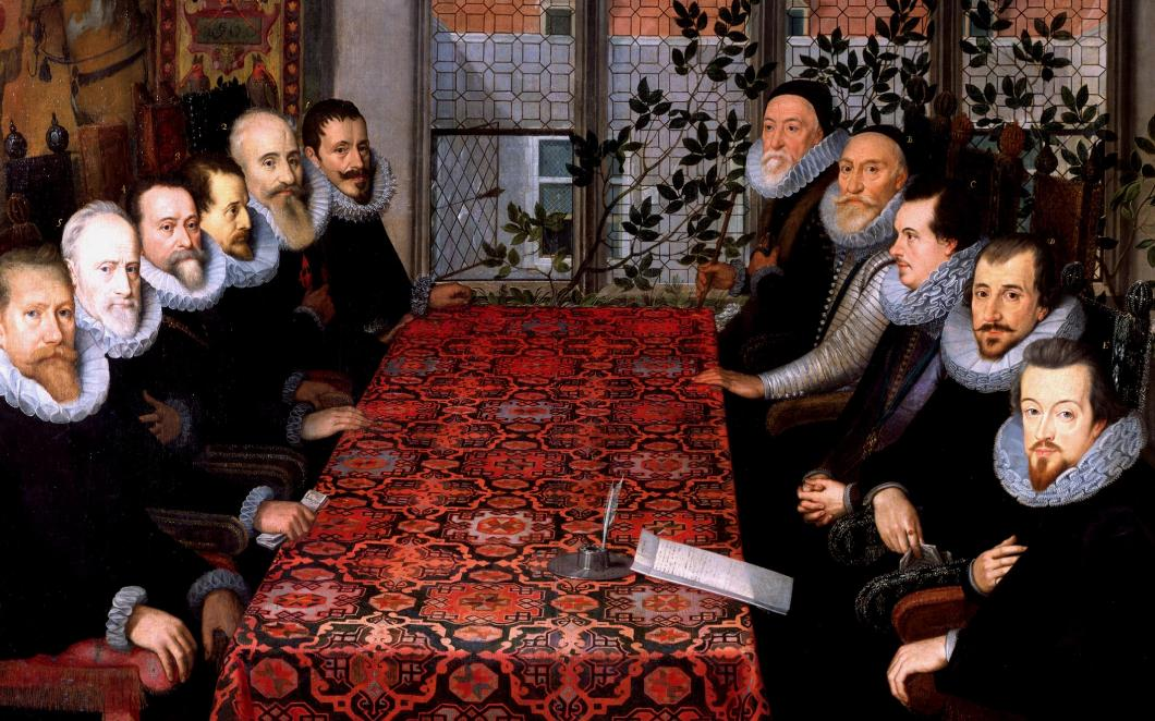The Somerset House Conference, 1604, by unknown artist © The National Portrait Gallery, London