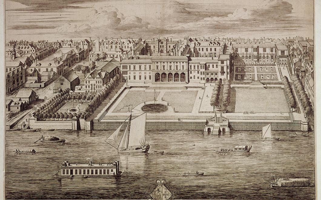 Old Somerset House and the Thames