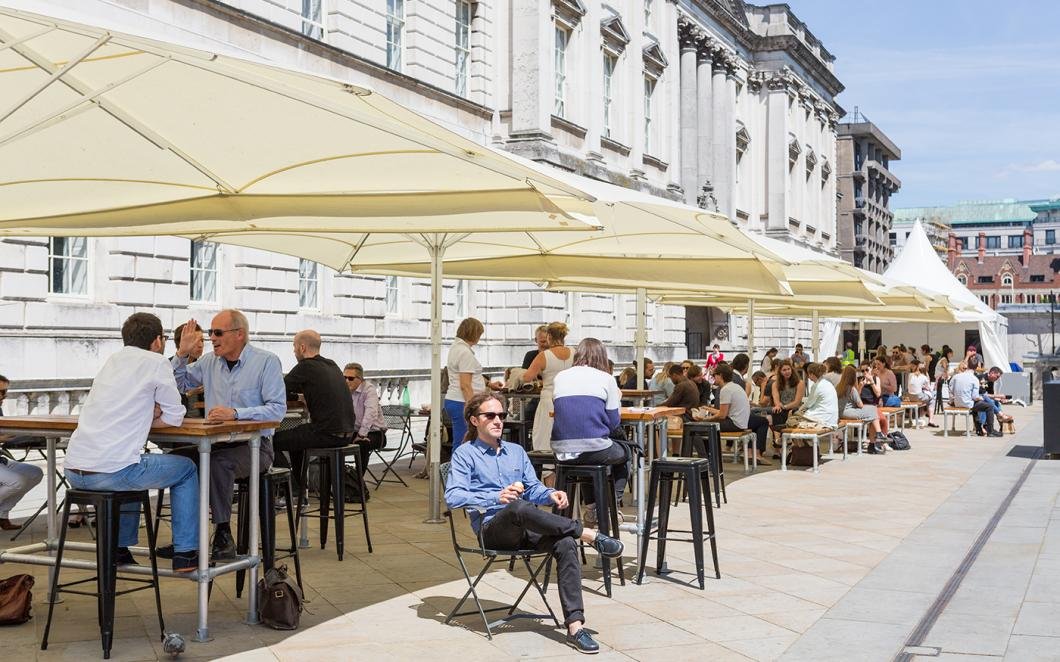 River Terrace at Somerset House, Image by Kevin Meredith