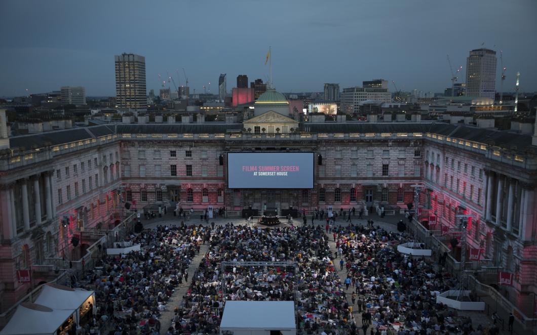 Film4 Summer Screen, Somerset House, 2016
