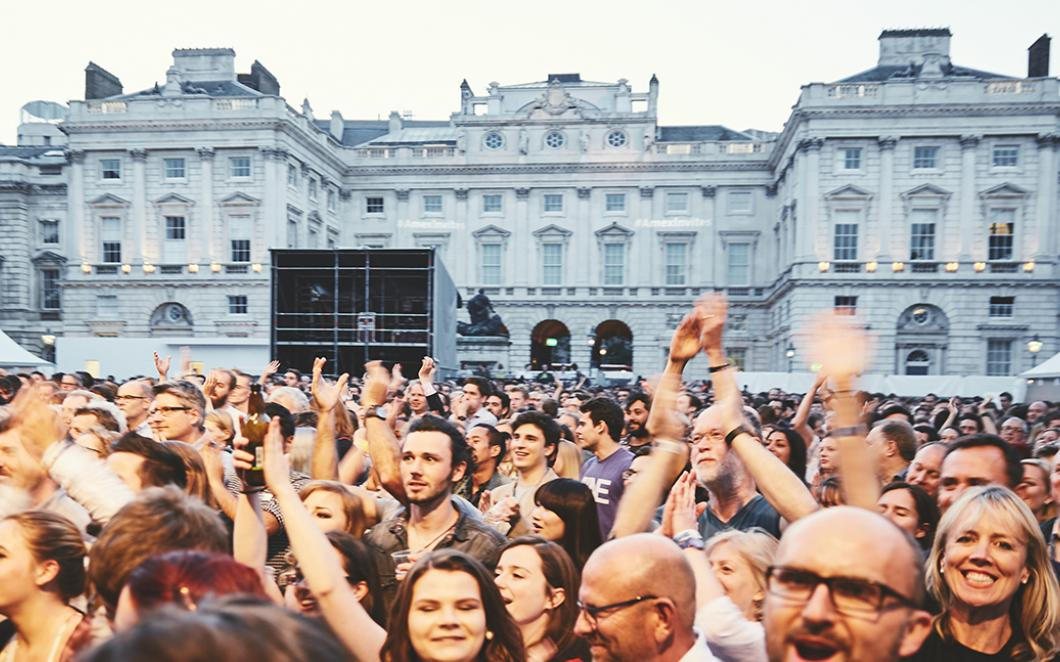 Summer Series, Somerset House, 2016, Image by Kevin Meredit