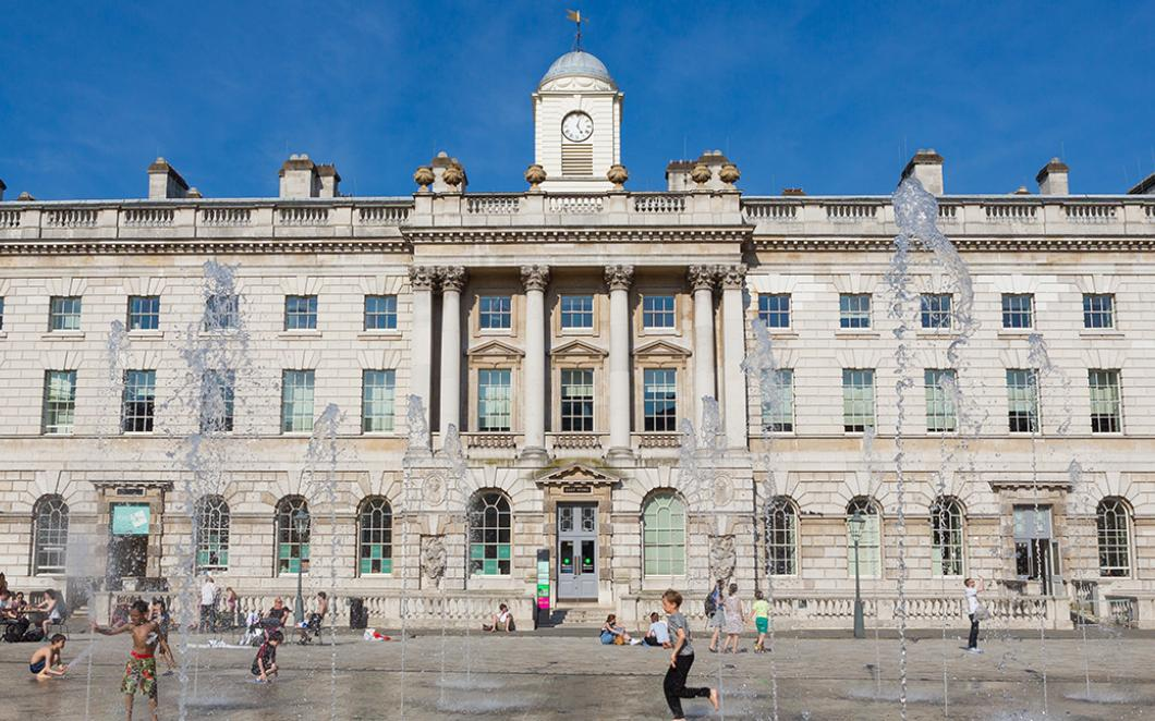 The Edmond J. Safra Fountain Court, Somerset House, Image by Kevin Meredith