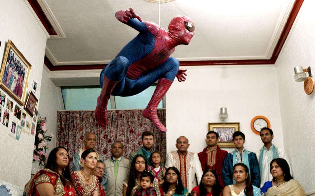 The Jump (Film still), 2015 © Hetain Patel