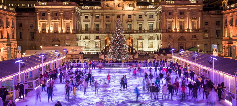 Christmas Ice Skating.Skate At Somerset House With Fortnum Mason
