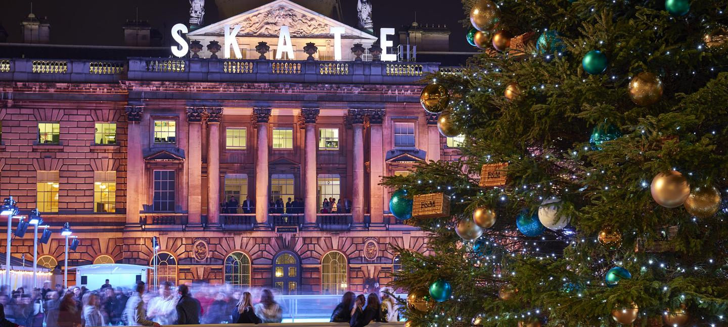 Somerset house ice rink images