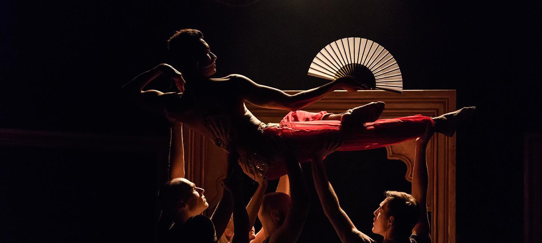Bayadère – The Ninth Life, Shobana Jeyasingh Dance. The Point, Eastleigh. Production photo by Jane Hobson