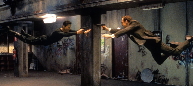 Film still of The Matrix