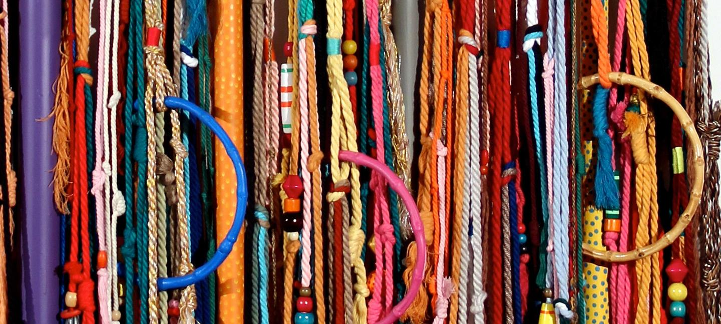 Quipu detail from Dimensiones series © Sixe Paredes