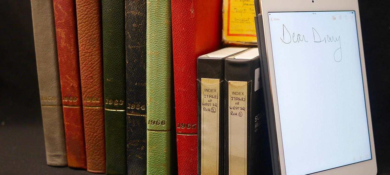 Dear Diary - image by Rachel Smith