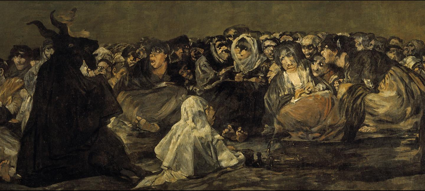 Francisco de Goya y Lucientes - Witches' Sabbath (The Great He-Goat)