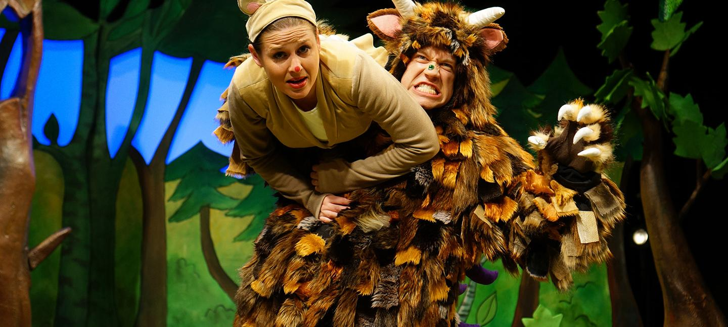 Tall Story Theatre Header Image - The Gruffalo
