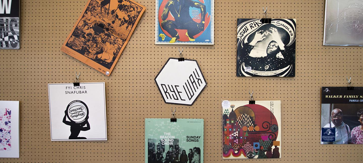 Rye Wax Records East Wing Edit
