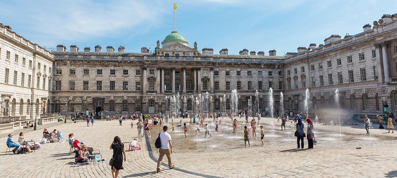 The Edmond J. Safra Fountain Court, Somerset House