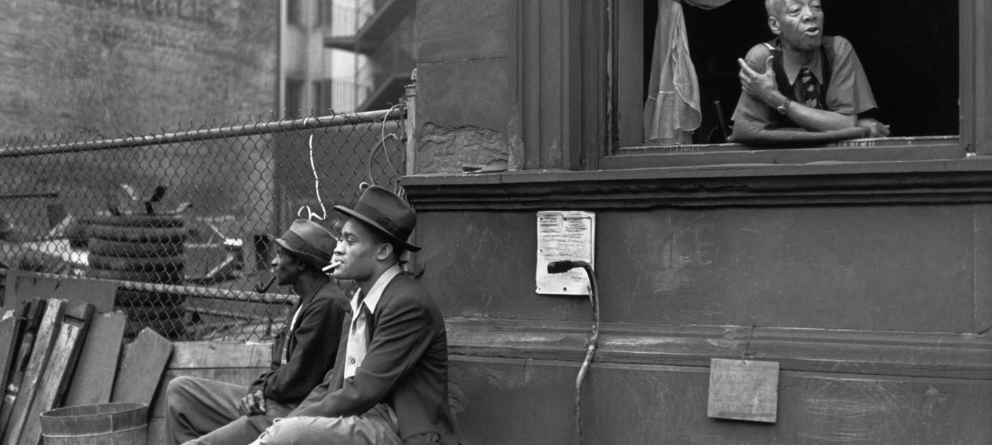 Henri Cartier-Bresson. Harlem, New York, 1947