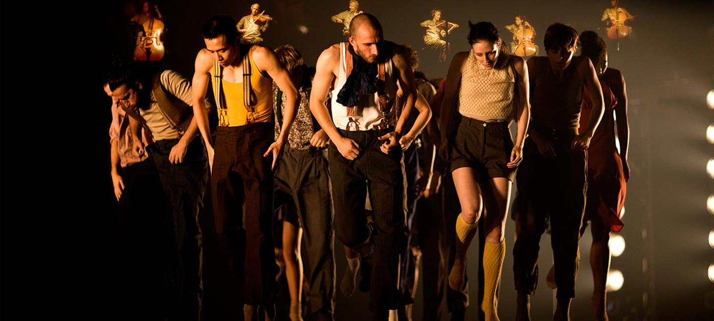Hofesh Shechter Dance Company, Political Mother © Tom Medwell