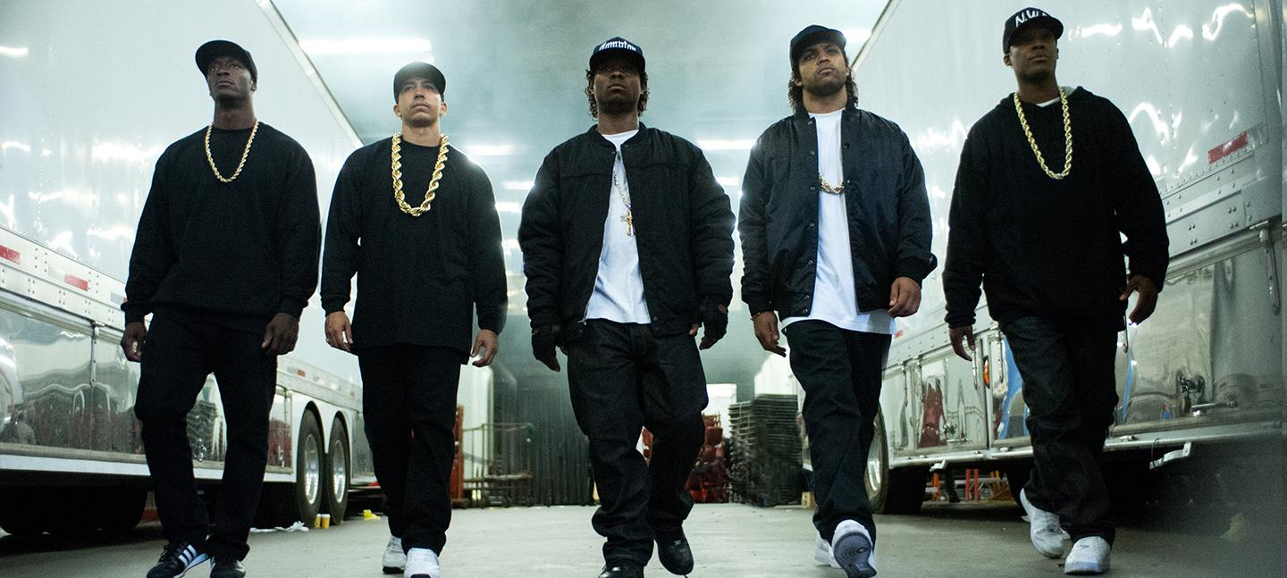 Film still of Straight Outta Compton.
